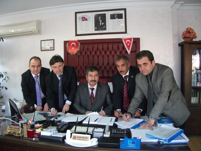 Yerelsen 2011 yılının ilk sözleşmesini Aksaray'da imzaladı