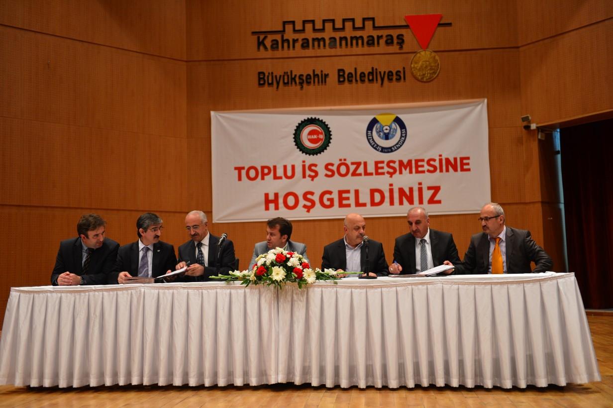 Kahramanmaraş'ta Toplu Sözleşme Sevinci
