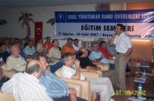 1) BALIKESİR /ALTINOLUK EĞİTİM SEMİNERİ (31.08.2007 – 04.09.2007)