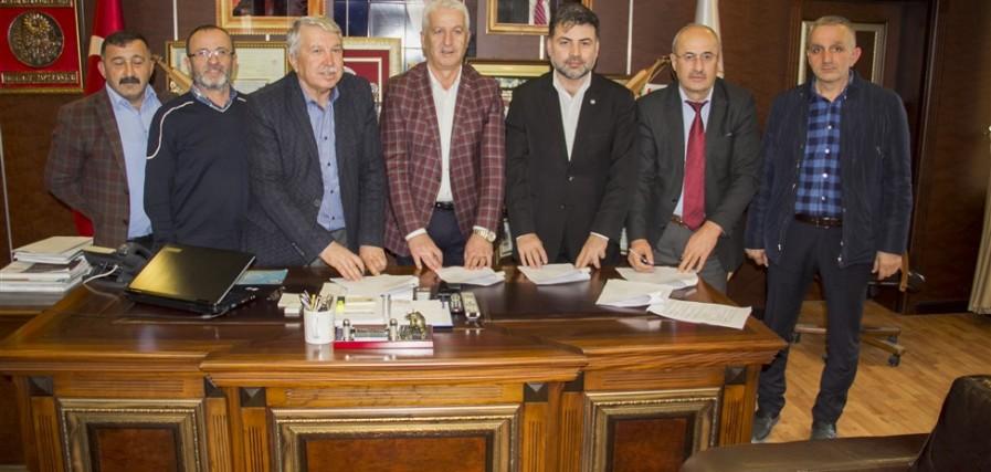 Karasu'da Sözleşme İmzalandı