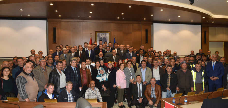 Bursa Büyükşehir ve BUSKİ'de Davullu Zurnalı Tören