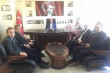 Sultandağı Belediyesi'nde Görüşmeler Başladı