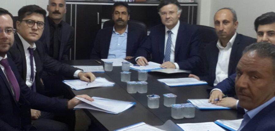 Şanlıurfa Büyükşehir Belediyesi'nde Görüşmeler Başladı