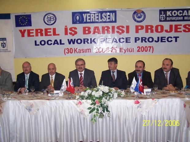 yerel iş barışı